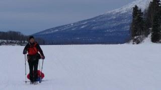 Walter Hösch beim Iditarod Trail in Alaska