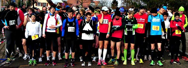 Startfoto vom Dinkelsbühler Stadtlauf 2012